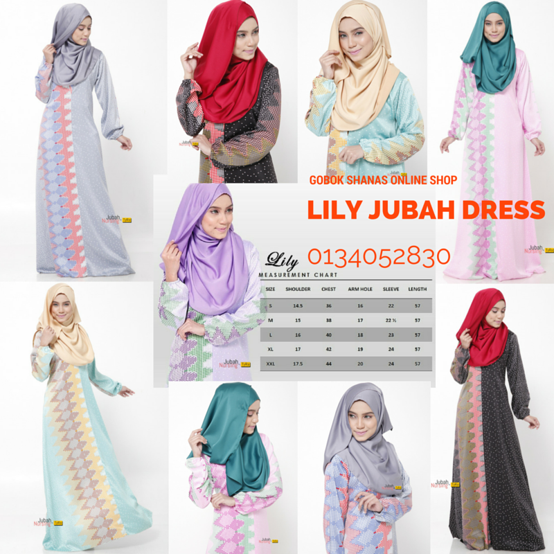 LILY JUBAH DRESS