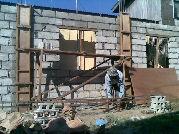 Seeker 39 s blog building a house in the philippines on a for Building a house cheaply