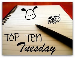Top Ten Tuesday: Top Ten Books On The Top Of My TBR For Fall