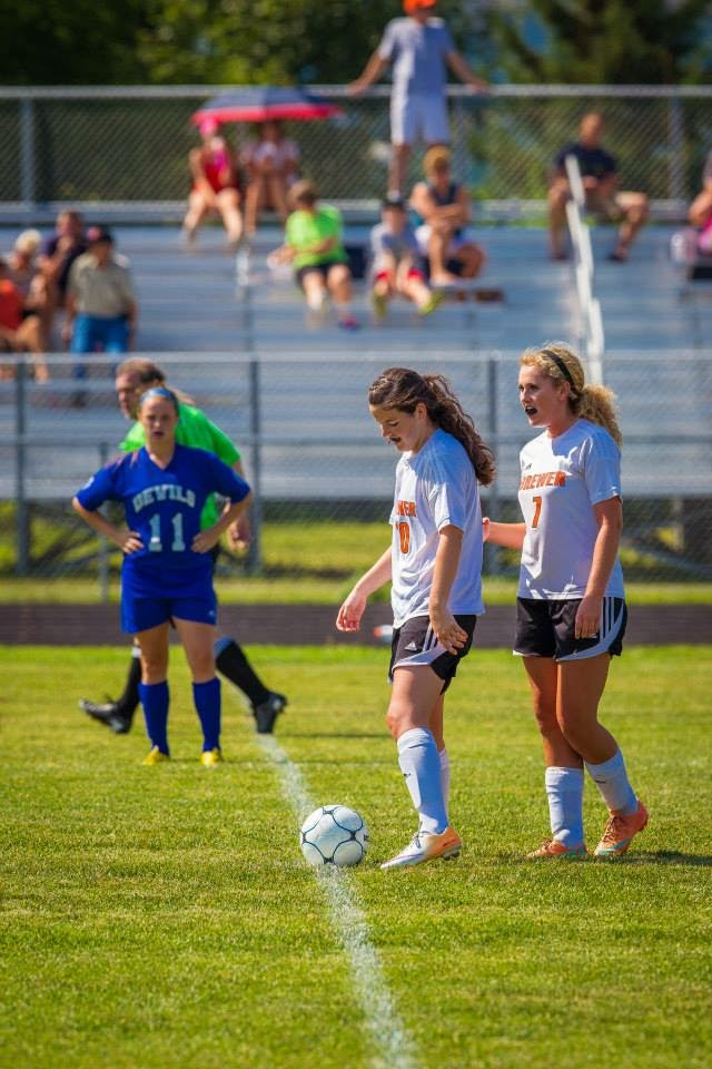 Lewiston/Brewer girls soccer- 9/6/14