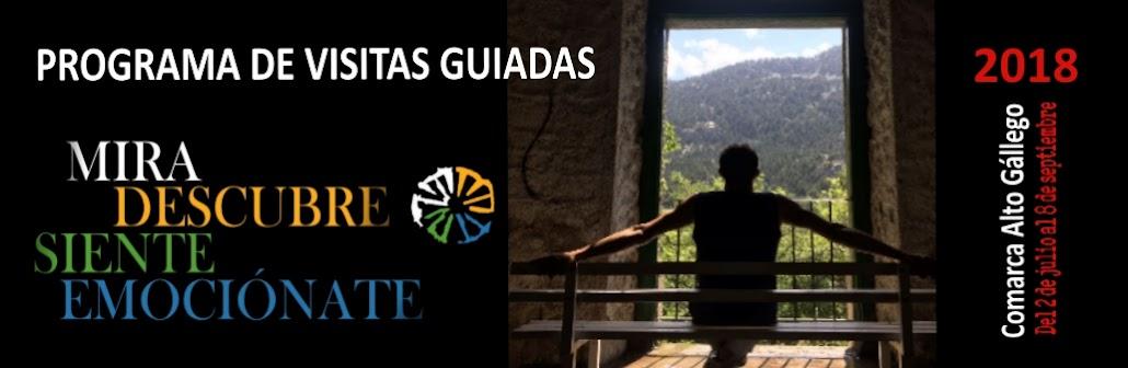 Programa Visitas Guiadas Comarca Alto Gállego 2018