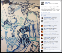 David Choe's Facebook image