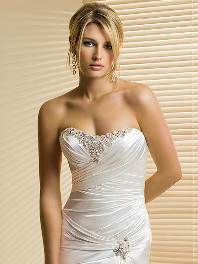 Bridal dresses most beautiful bridal gowns for Wedding dresses for small breasts