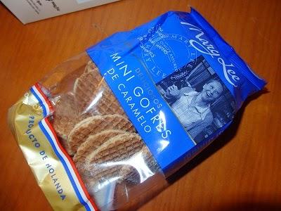 Mini Gofres caramelo, Mary Lee
