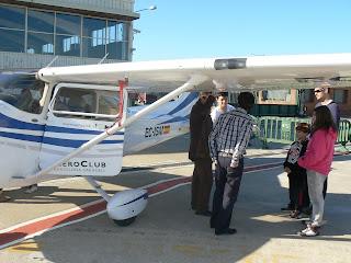 Cessna 182 Skylane de l'Aeroclub.