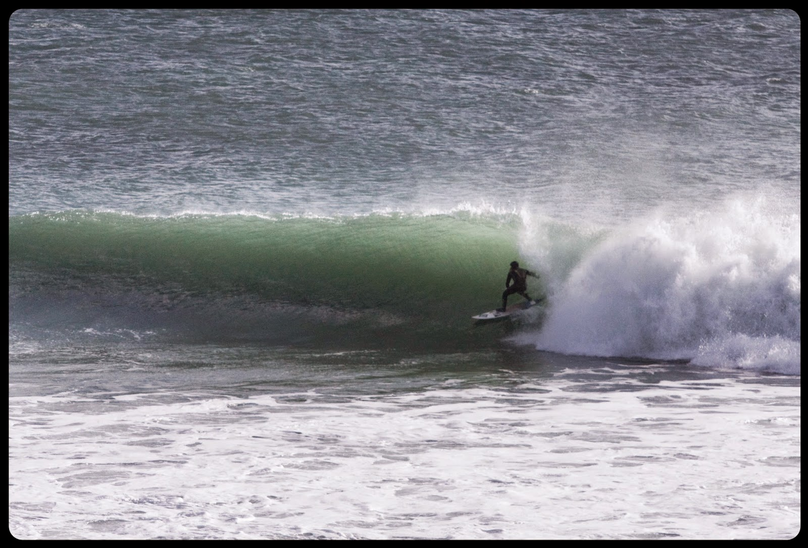 Surfing, Barrel, Porthleven, Cornwall