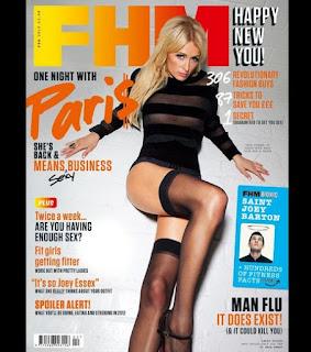 Paris Hilton in magazine FHM
