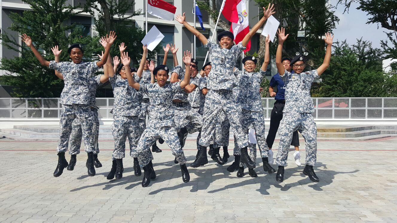 Senior Cadet Leaders stepping down