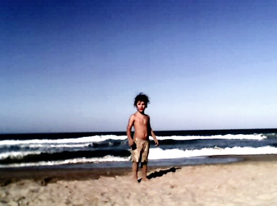 Mediterraneo boy in the beach