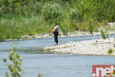La pesca su Don basa la regione Di Volgograd