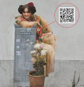 Ejemplo de Código QR integrado en la imagen