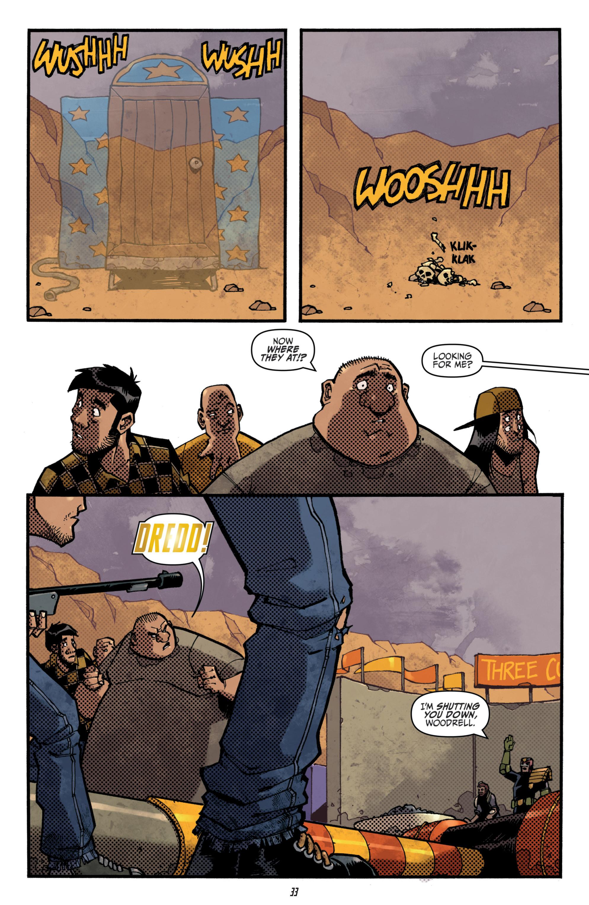 Read online Judge Dredd (2012) comic -  Issue # _TPB 3 - 33