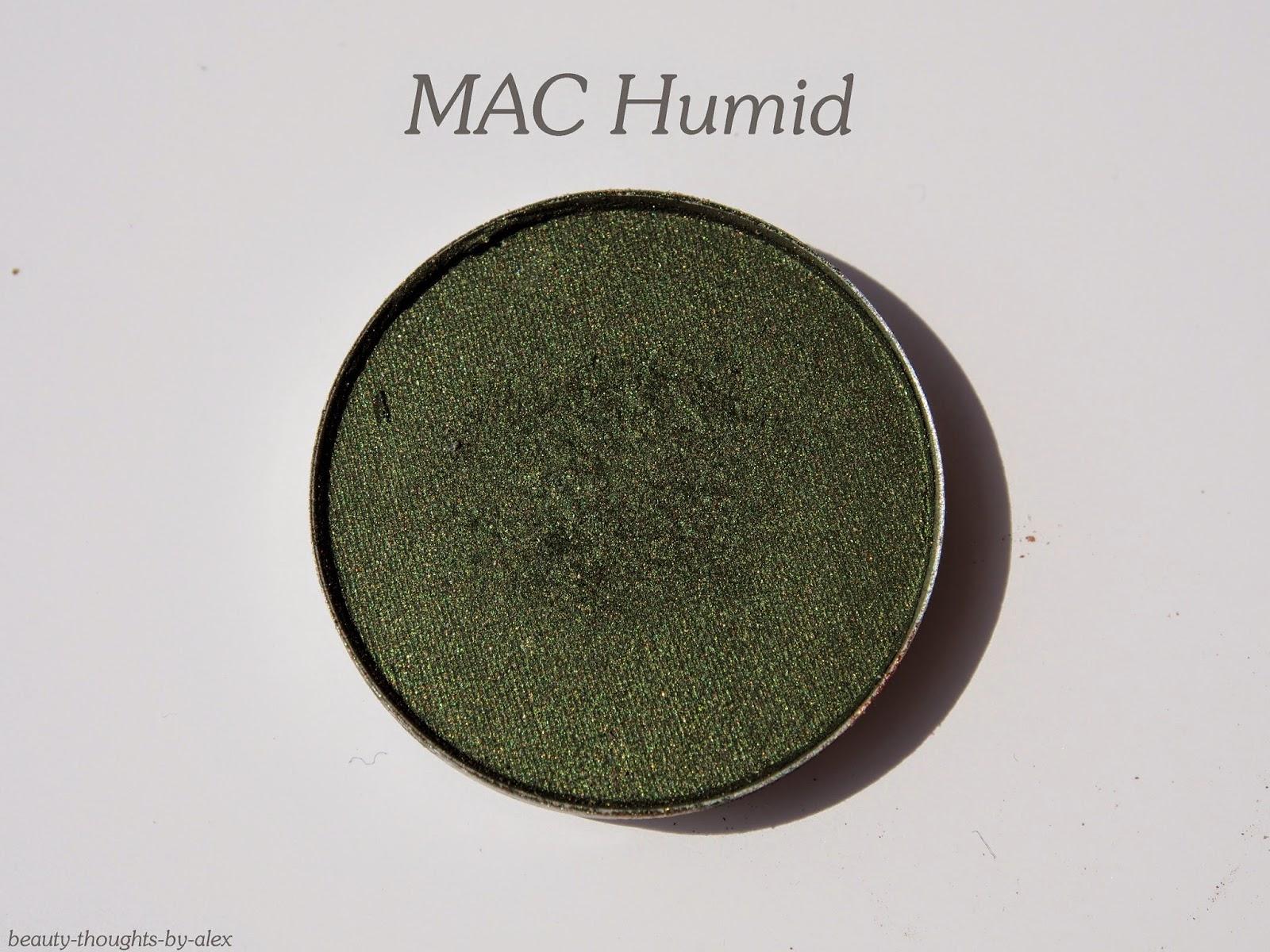 MAC Lidschatten Humid Swatch