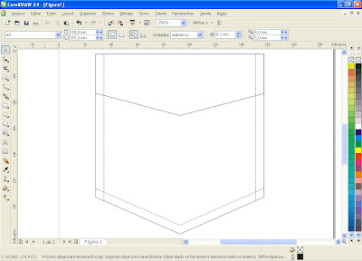 Tutorial de Corel Draw - Criando uma Lapela