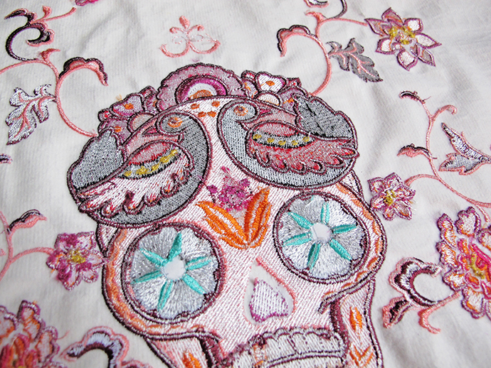 Oonaballoona By Marcy Harriell A Sugar Skull Purse