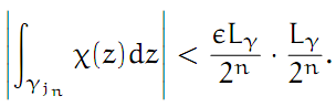 Complex Analysis: #4 Cauchy`s Theorem (simplest version) equation pic 10