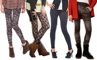 Fashion Do's And Don'ts For Wearing Footless Tights