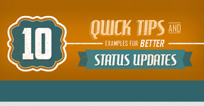 10 Quick Ways To Make Your Social Updates More Engaging [infographic]
