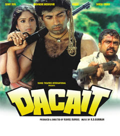 Dacait (1987 - movie_langauge) - Rakhee Gulzar, Meenakshi Sheshadri, Sunny Deol, Suresh Oberoi, Raza Murad, Dan Dhanoa, Dilshaad, AK Hangal, Shafi Inamdar, Anita Kanwar, Urmila Matondkar, HL Pardesi, Harish Patel, Satyajit Puri, Paresh Rawal