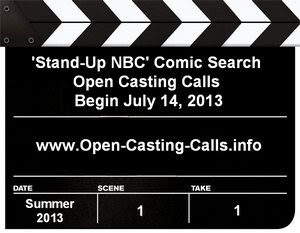 Stand-Up NBC Open Auditions