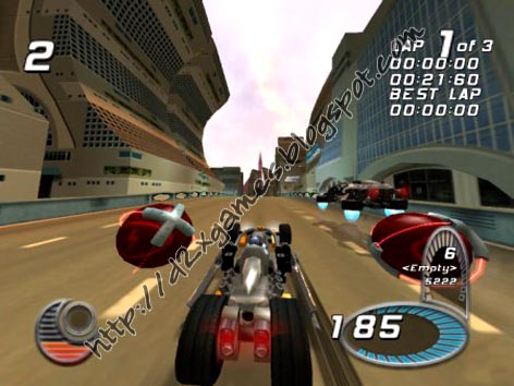 Free Download Games - Drome Racers
