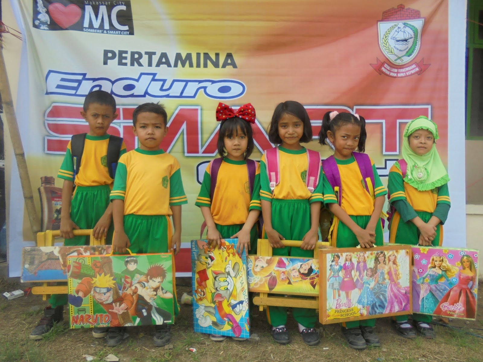 """Dalam rangka mendukung Program Pemerintah Kota Makassar yaitu Makassar Tidak Rantasa MTR maka diadakanlah kegiatan """"Pertamina Enduro Peduli Makassar ta"""