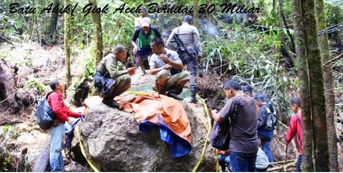 Batu Akik/ Giok Dari Aceh