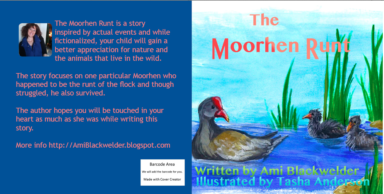 CLICK TO BUY (NEW) 8.5 by 8.5 full color version of The Moorhen Runt