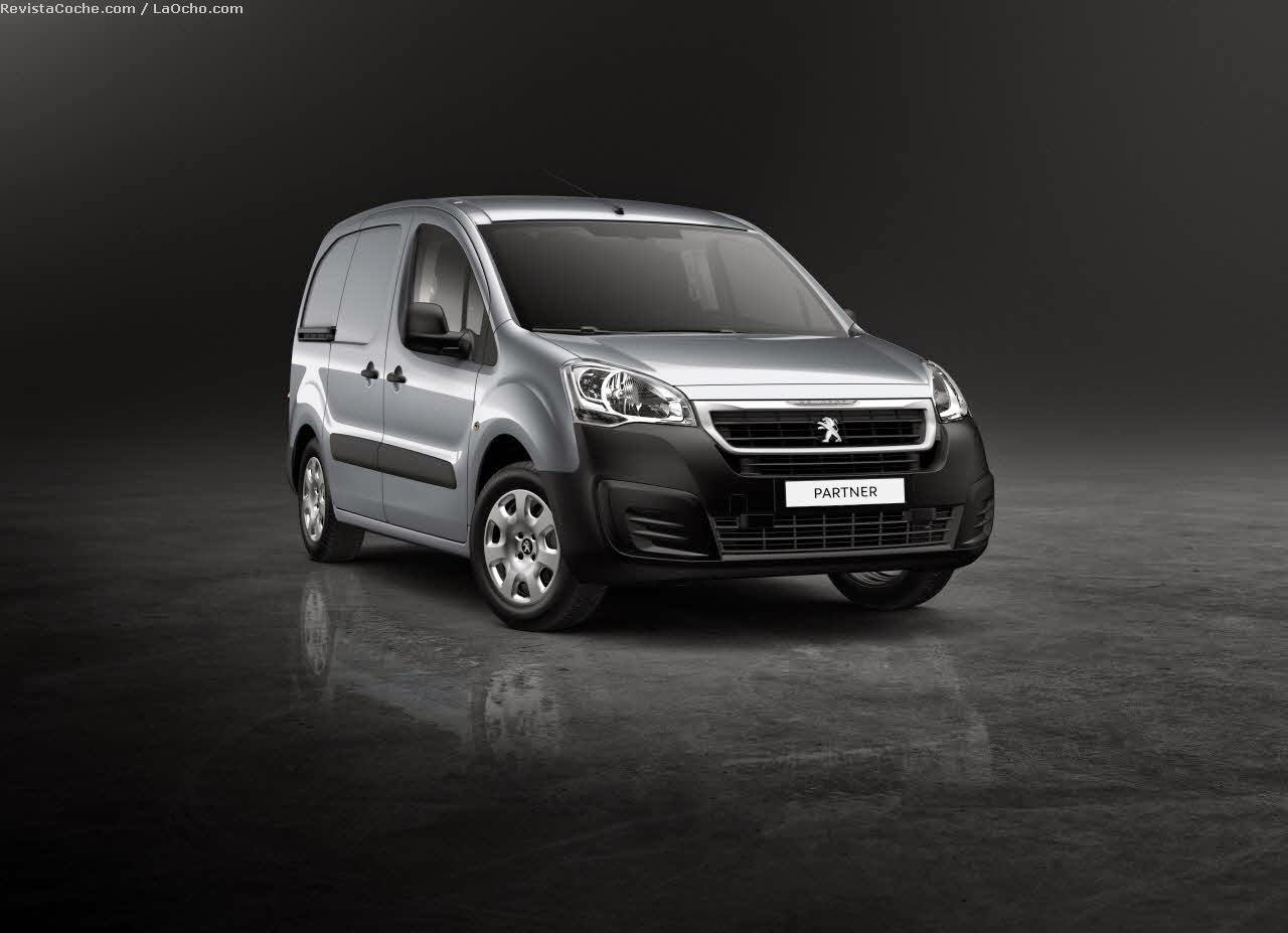Enlaces exterior para Peugeot Partner a partir de 1996 negro manualmente