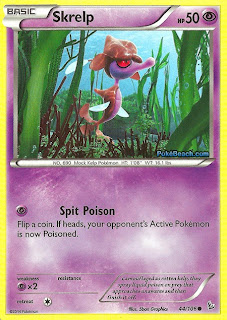 Skrelp Flashfire Pokemon Card