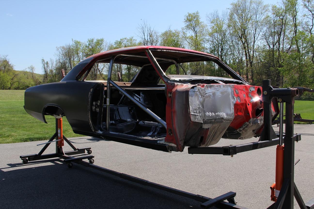 The making of Steve\'s 1966 Chevelle SS: Frame and Body welding ...