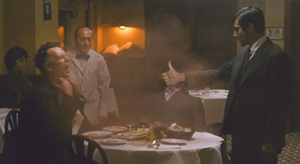 Thumbs and Ammo - The Godfather - Al Pacino