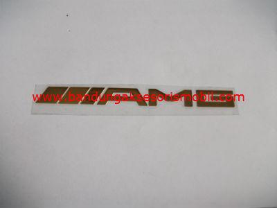 Emblem Alumunium Besar Gold AMG