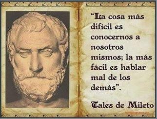 frases de Tales de Mileto