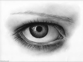 Easy Cool Dragon Eye Drawings