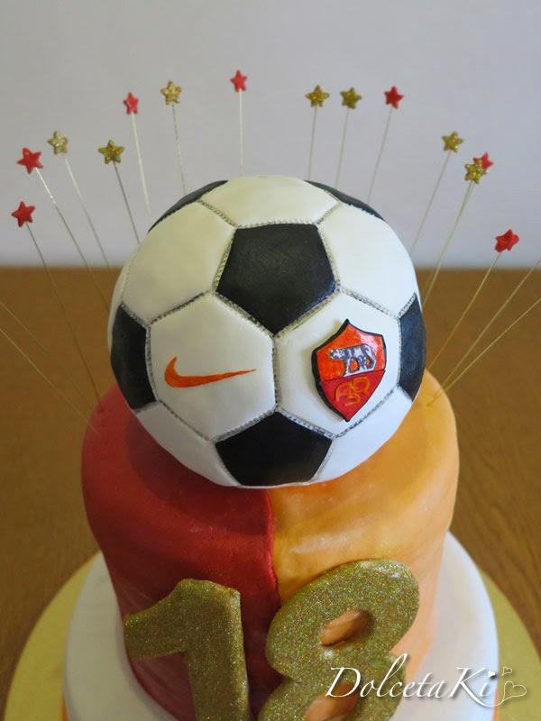 torta pallone 18 anni