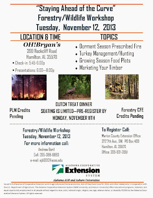 http://www.aces.edu/~henshmd/temp/Staying Ahead of the Curve Forestry-Wildlife Workshop Flyer.pdff