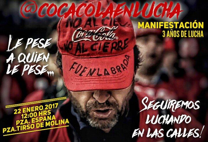 22 enero CocaCola en Lucha