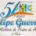 Dois eventos da Festa de Emancipação Politica do Município de Felipe Guerra, é cancelado.