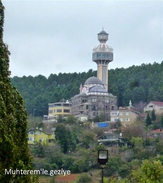 minaresinde seyir terası olan camii