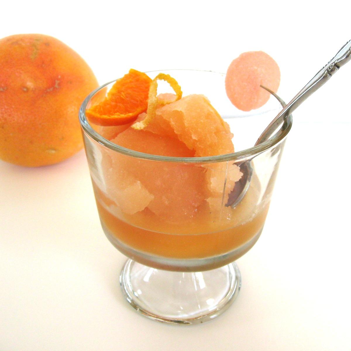 Mama Me Gluten Free: Royal Grapefruit & Clementine Sorbet