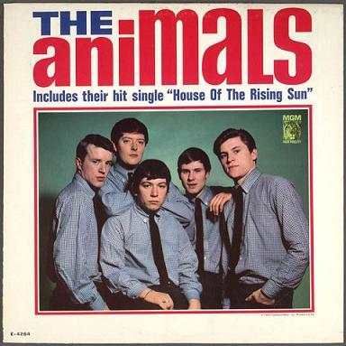 Portada del LP de 1964 - The Animals