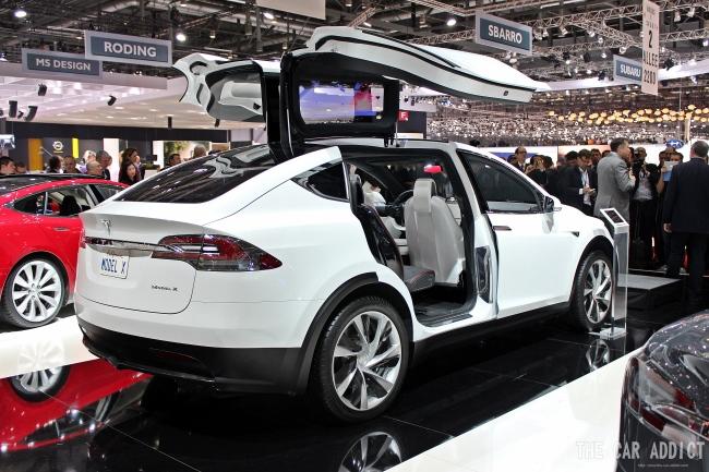 Geneva Motor Show 2013 Gallery:  Tesla Motors + Elon Musk