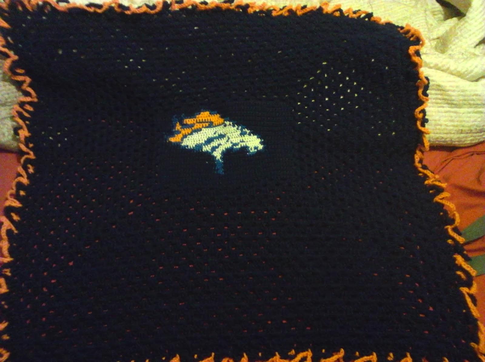 Crochet Nfl Blankets Crochet Nfl Blankets