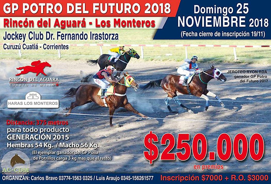GP POTRO DEL FUTURO - 25-11-18