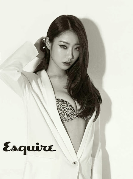 kyungri nine muses esquire korea 2014