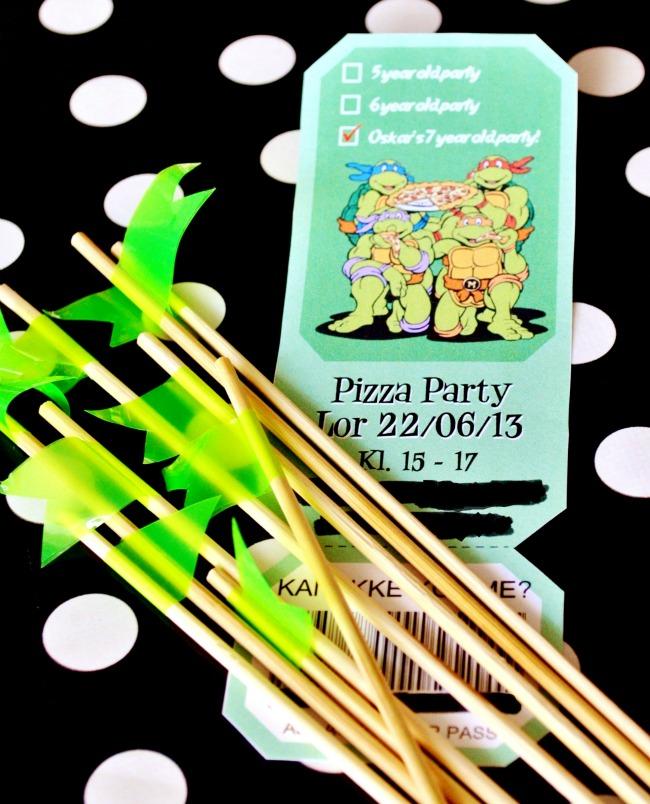 Living Four Seasons Ninja Turtles Birthday Party amp Free