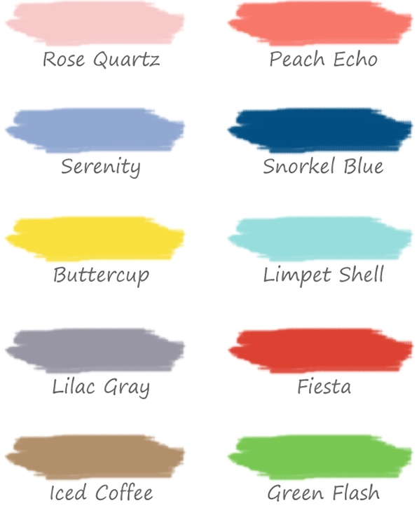 beachpeople buzz!: top colors for 2016 weddings