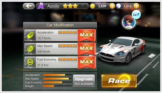 WeChat Speed All Star Car Class A