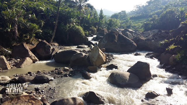sungai watu gede, sungai kalibening, kali kalibening